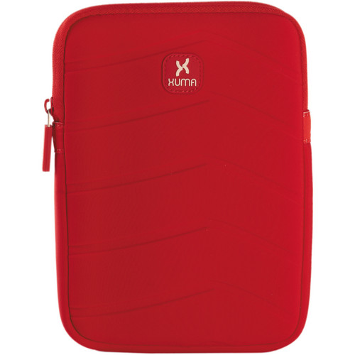 Xuma Neoprene Sleeve for iPad mini (Red)