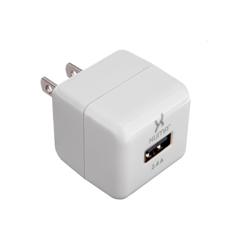 Xuma 2.4A USB Charger with Folding Prongs