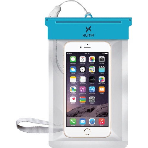 Xuma Waterproof Pouch for Smartphones up to 5""