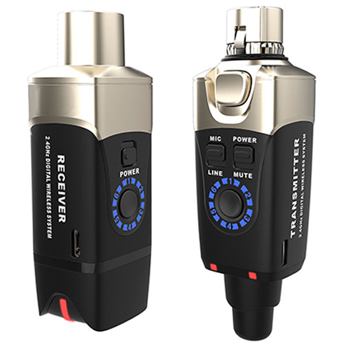Xvive Audio U3 2.4 GHz Digital Wireless Microphone System
