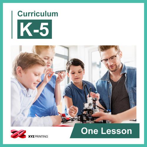 XYZprinting Grades K-5 STEAM Curriculum: One Lesson (Download)