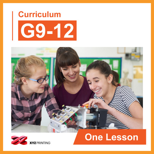 XYZprinting Steam Curriculum G912 (One Lesson)