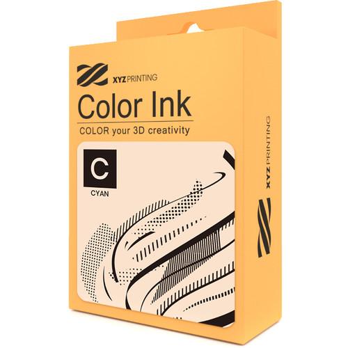 XYZprinting Da Vinci Color Ink Cartridge (Cyan, 40mL)
