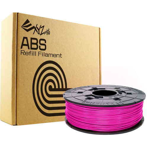 XYZprinting 1.75mm ABS Refill Filament (600g, Neon Magenta)