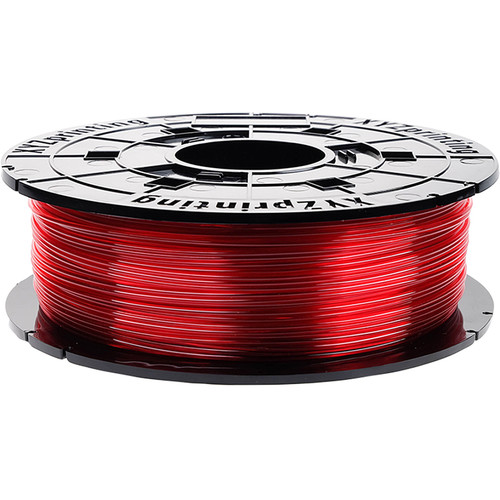 XYZprinting 1.75mm PETG-T Refill Filament (600g, Clear Red)