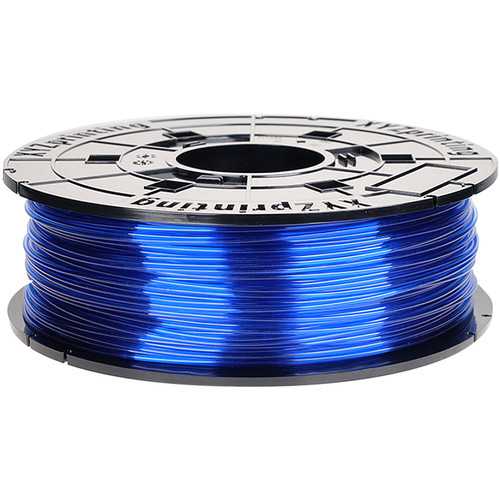 XYZprinting 1.75mm PETG-T Refill Filament (600g, Clear Blue)