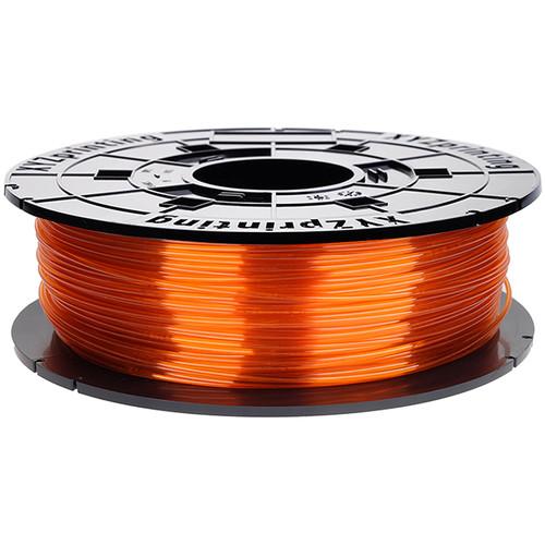 XYZprinting 1.75mm PETG-T Refill Filament (600g, Clear Tangerine)