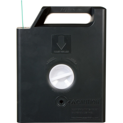 XYZprinting 1.75mm PLA Filament Cartridge (600g, Clear Green)