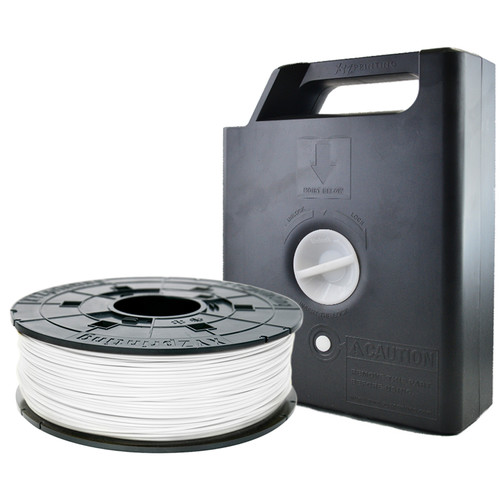 XYZprinting 1.75mm PLA Filament Cartridge (600g, Pearl White)