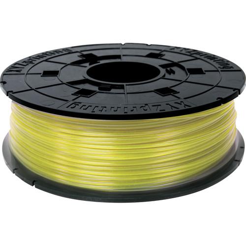 XYZprinting 1.75mm PLA Refill Filament (600g, Clear Yellow)