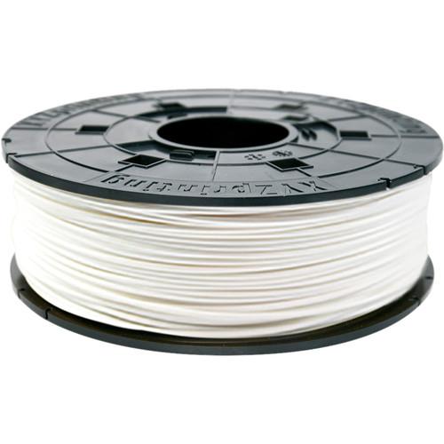 XYZprinting 1.75mm PLA Refill Filament (600g, White)