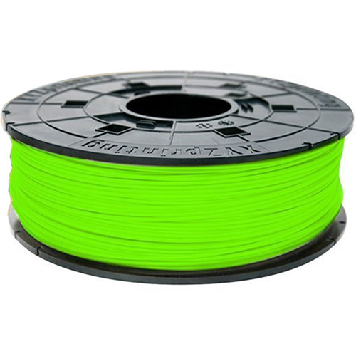 XYZprinting 1.75mm PLA Refill Filament (600g, Neon Green)