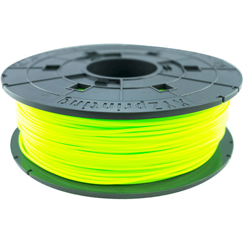 XYZprinting 1.75mm PLA Filament for the Jr. and Mini 3D Printer Series (600g, Neon Green)
