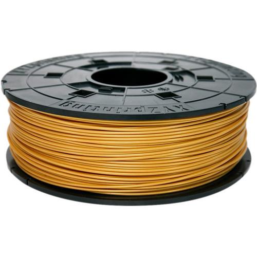XYZprinting 1.75mm PLA Filament for the Jr. and Mini 3D Printer Series (600g, Gold)