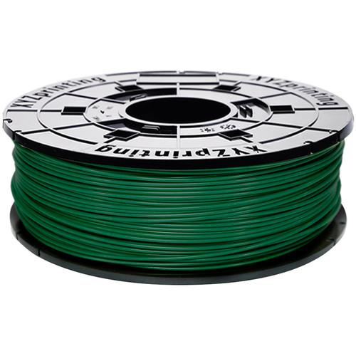 XYZprinting 1.75mm PLA Refill Filament (600g, Green)