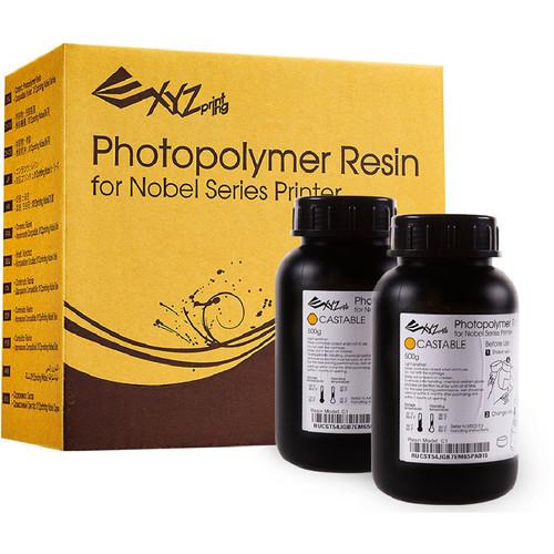 XYZprinting Castable Resin C1 for Nobel 1.0A 3D Printer (2 x 500g)