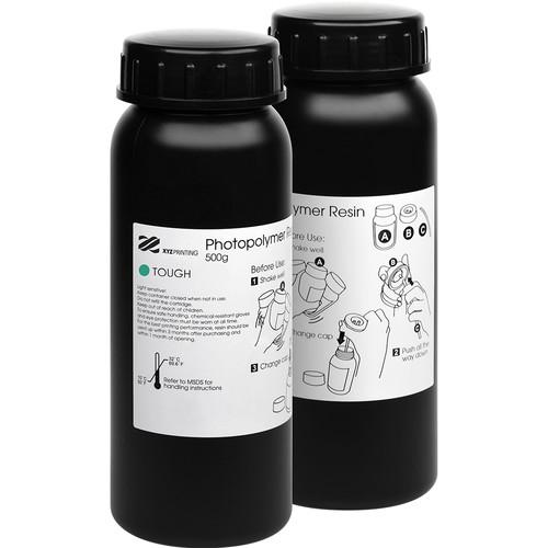 XYZprinting Tough Resin (Clear Green, 2-Pack)