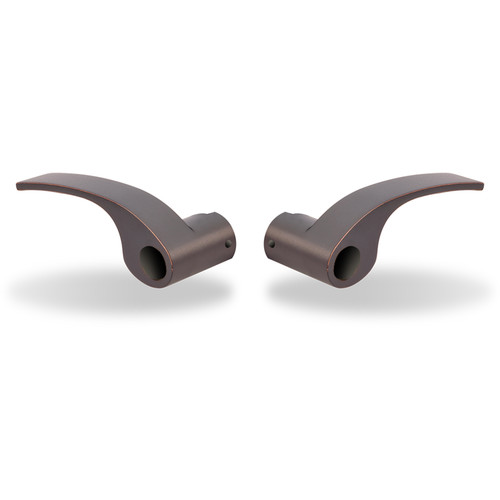 Yale Milan Snap-On Replacement Lever (Oil-Rubbed Bronze, Permanent, Pair)