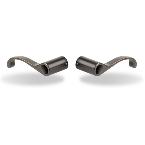 Yale McClure Snap-On Replacement Lever (Oil-Rubbed Bronze, Permanent, Pair)