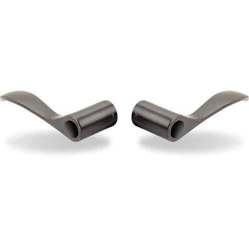 Yale Norwood Snap-On Replacement Lever (Oil-Rubbed Bronze, Permanent, Pair)
