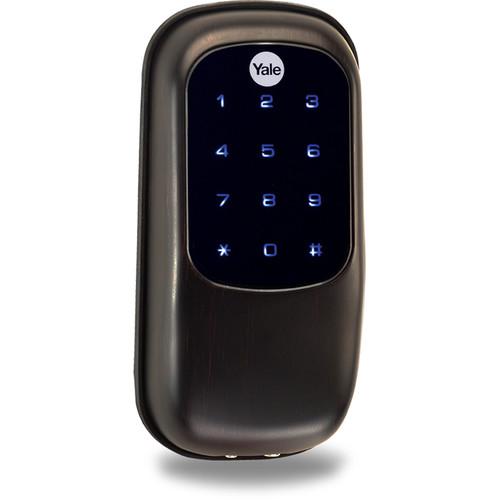 Yale Key-Free Touchscreen Deadbolt with ZigBee (Oil-Rubbed Bronze)