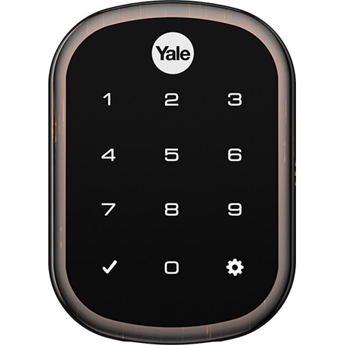 Yale Assure Lock SL with Connected By August (Oil Rubbed Bronze)