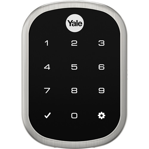 Yale Assure Lock SL with Connected By August (Satin Nickel)