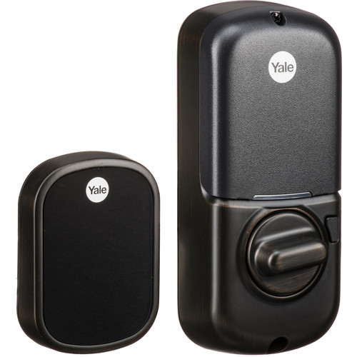 Yale Real Living Assure Lock SL Deadbolt (Oil-Rubbed Bronze) with iM1 Network Module