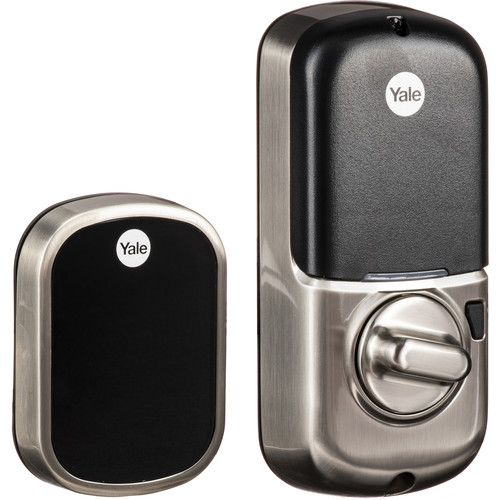 Yale Real Living Assure Lock SL Deadbolt (Satin Nickel) with iM1 Network Module