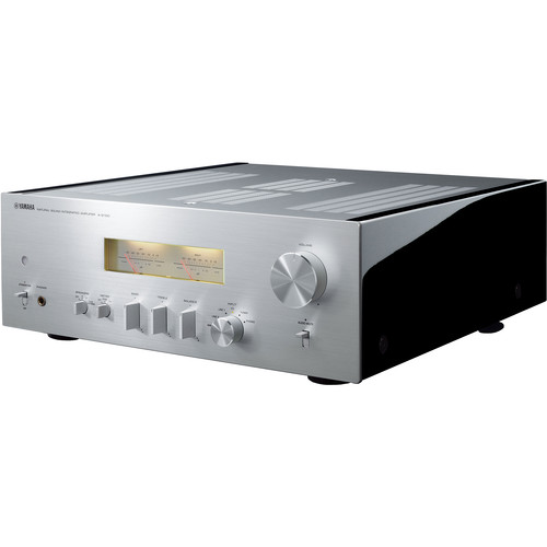 Yamaha A-S1100 Integrated Amplifier and Receiver (Silver/Piano Black)