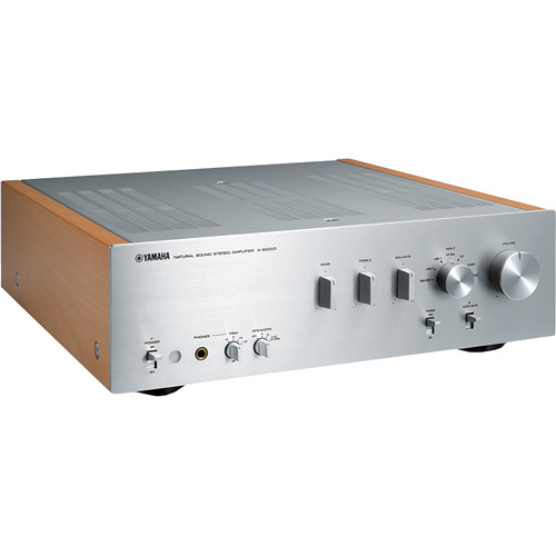Yamaha A-S2000 Natural Sound Stereo Amplifier (Silver)