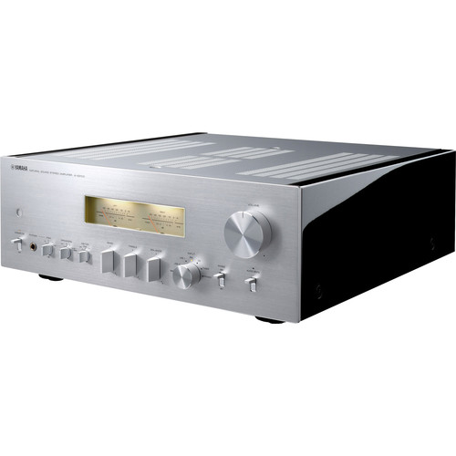 yamaha a s2100 integrated amplifier silver a s2100sl b h. Black Bedroom Furniture Sets. Home Design Ideas
