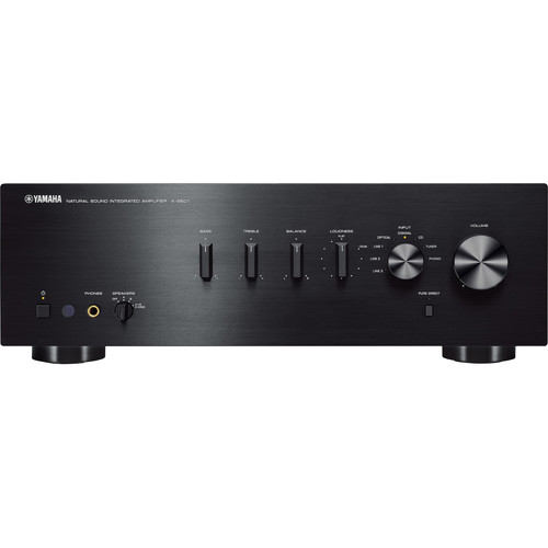 Yamaha A-S501 Integrated Amplifier (Black)