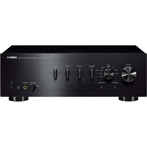 Yamaha A-S701 Integrated Amplifier (Black)