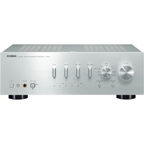 Yamaha a s801 integrated amplifier silver a s801sl b h photo for Yamaha audio customer service