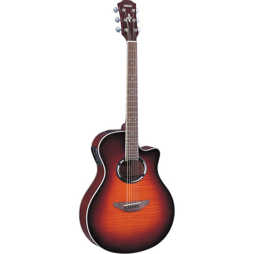 yamaha apx500fmii thinline acoustic electric apx500fmii ovs b h. Black Bedroom Furniture Sets. Home Design Ideas