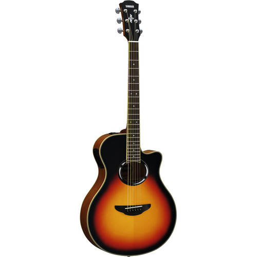 Yamaha APX500III Thinline Acoustic/Electric Cutaway Guitar (Vintage Sunburst)