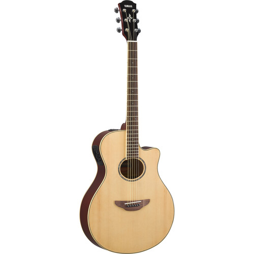 Yamaha APX600 Thin-Line Acoustic/Electric Cutaway Guitar (Natural)