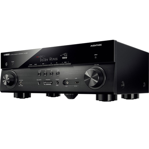 Yamaha AVENTAGE RX-A660BL 7.2-Channel Network A/V Receiver