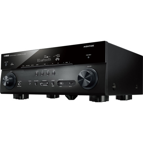 Yamaha AVENTAGE RX-A750BL 7.2-Channel Network AV Receiver (Black)