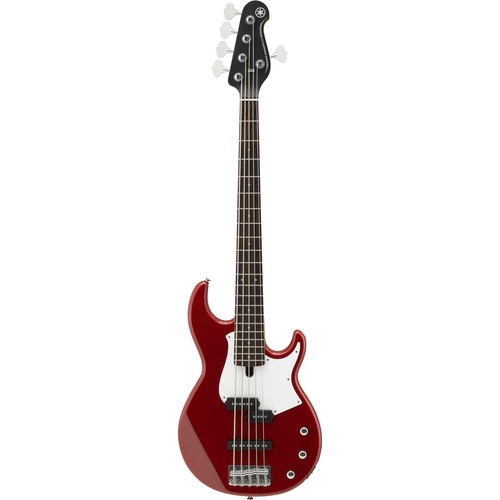 Yamaha BB234 BB Series 5-String Electric Bass (Raspberry Red)