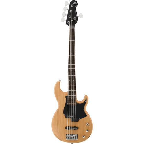 Yamaha BB234 BB Series 5-String Electric Bass (Yellow Natural Satin)