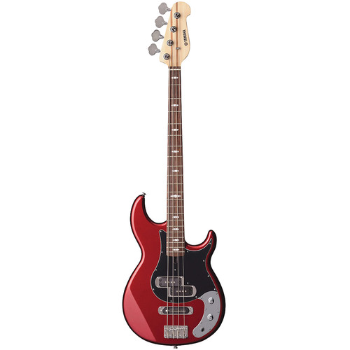 Yamaha BB424X 4-String Electric Bass (Red Metallic)