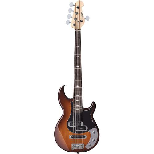 Yamaha BB425X 5-String Electric Bass (Tobacco Brown Sunburst)