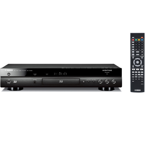 Yamaha AVENTAGE BD-A1060 4K Upscaling Wi-Fi and 3D Blu-ray Disc Player (Black)