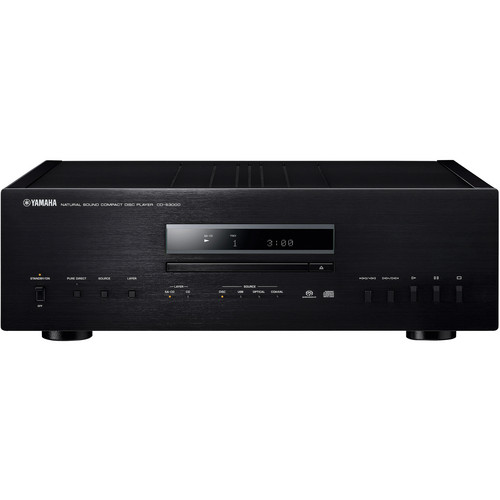 Yamaha CD-S3000 Natural Sound CD Player (Black)