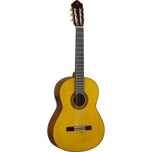 Yamaha CG-TA TransAcoustic Nylon-String Acoustic/Electric Classical Guitar (Natural)
