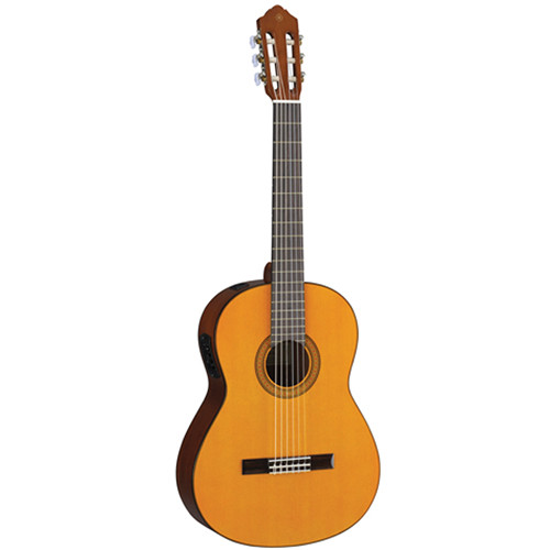 Yamaha CGX102 Nylon-String Acoustic/Electric Classical Guitar