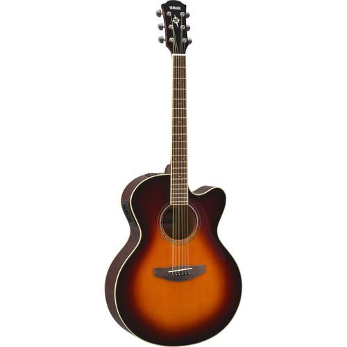 Yamaha CPX600 Medium-Jumbo Body Acoustic Electric Guitar (Old Violin Sunburst)