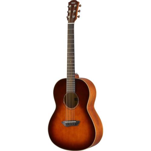 Yamaha CSF3M Compact Parlor Size Folk Guitar Tobacco Brown Sunburst